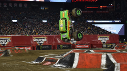The Thrill and Excitement of Monster Jam Anaheim *Review* Plus tips for your visit