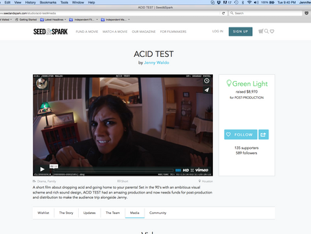 We did it! ACID TEST funded!