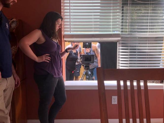Director on set!