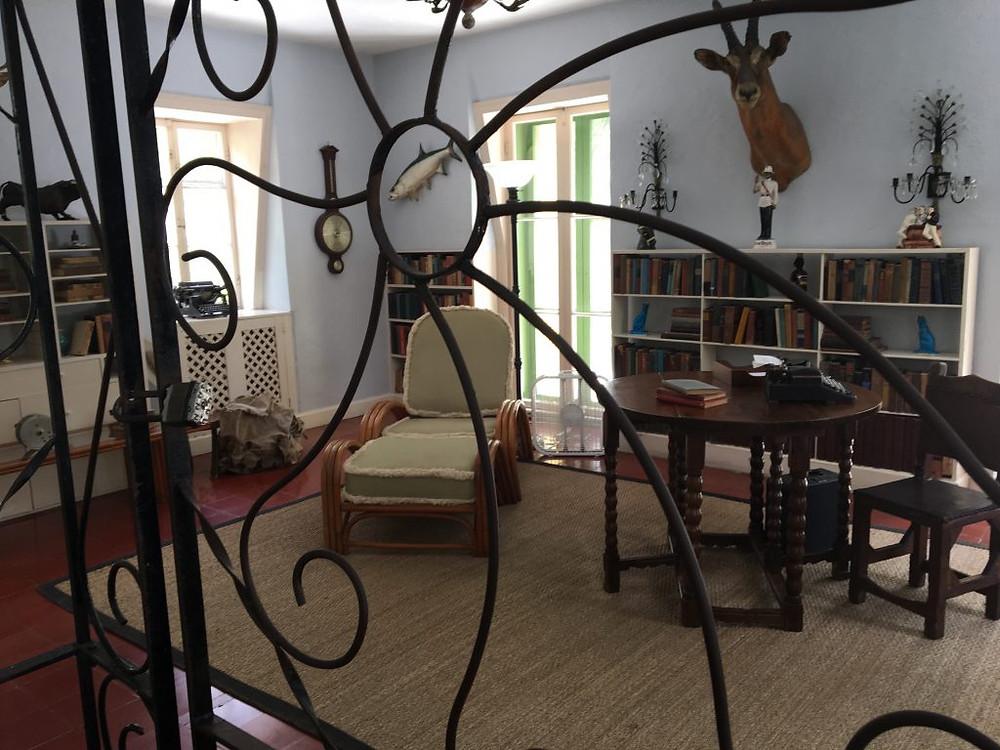 Hemingway's writing office