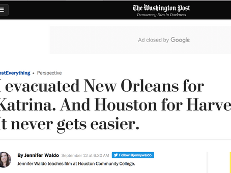 Article in the Washington Post
