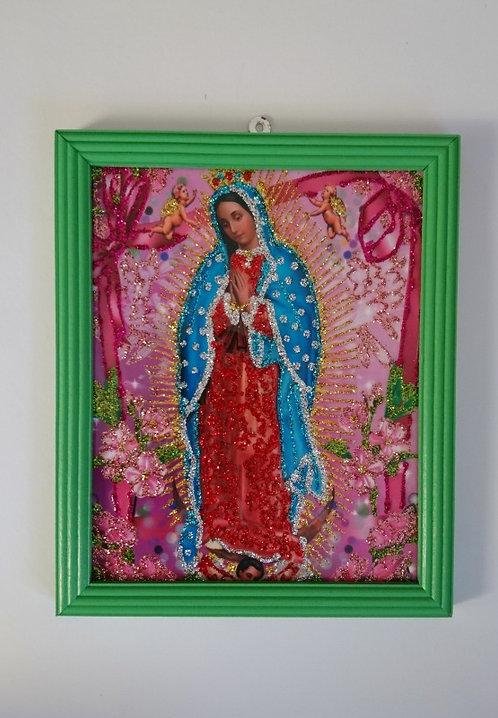 Schilderij guadalupe groen