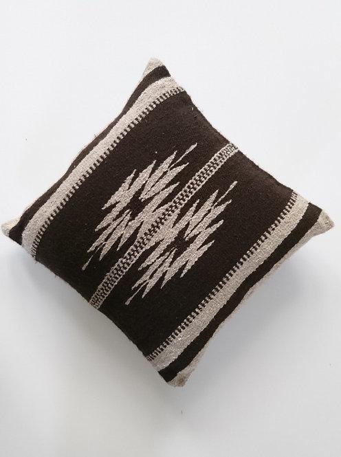 Kussenhoes bruin Aztec