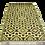 Thumbnail: Plastic vloerkleed 120x180 coffee aztec