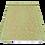 Thumbnail: Plastic vloerkleed 120x180 cm olijfgroen/gold
