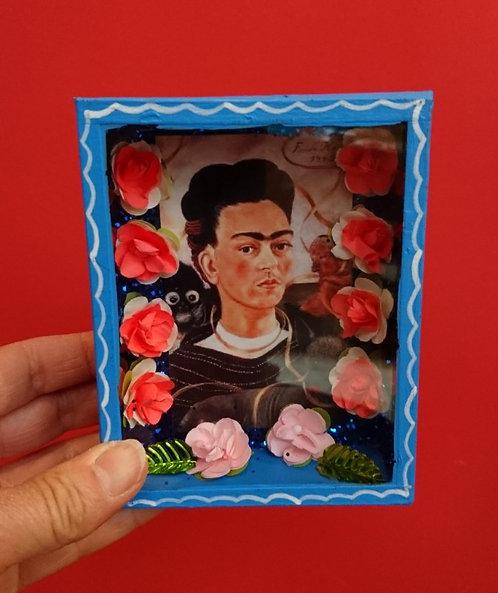 Kijkkastje Frida Kahlo