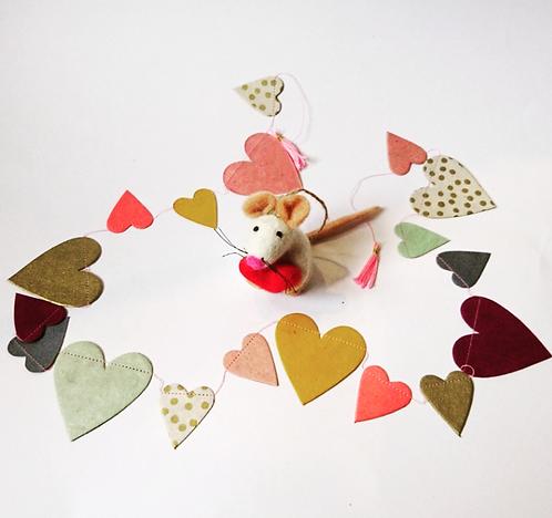 Hartslinger met Valentijn muis