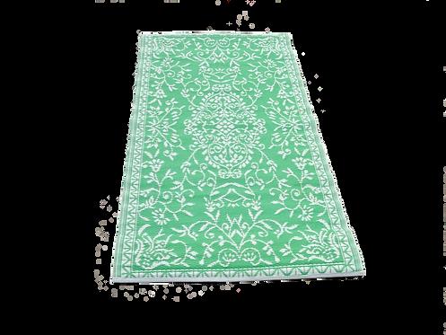 plastic vloerkleed 90x180 cm groen