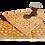 Thumbnail: Plastic vloerkleed 180x270 cm orange aztec