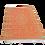 Thumbnail: Plastic vloerkleed 120x180 cm olijfgroen/oranje