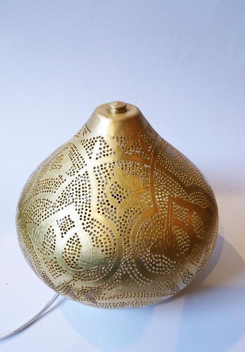 Tafellamp filigrain met patroon