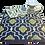 Thumbnail: Plastic vloerkleed 180x270 cm koffie/geel