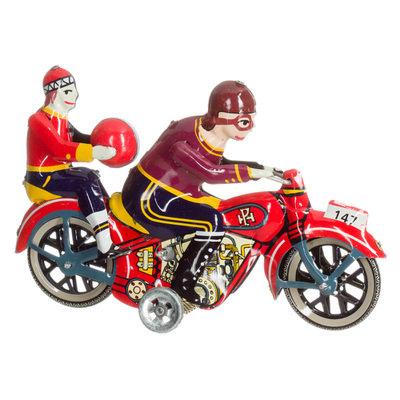 blikken motorfiets opwindbaar