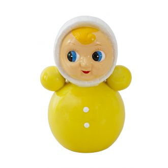 Spaarpot pop geel