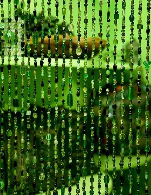 Kralengordijn groen