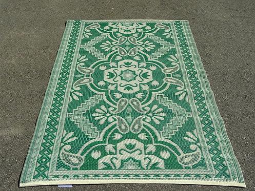 plastic vloerkleed 120x180 cm 4 kleur groen