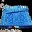 Thumbnail: Plastic vloerkleed 120x180 cm blauw/aqua