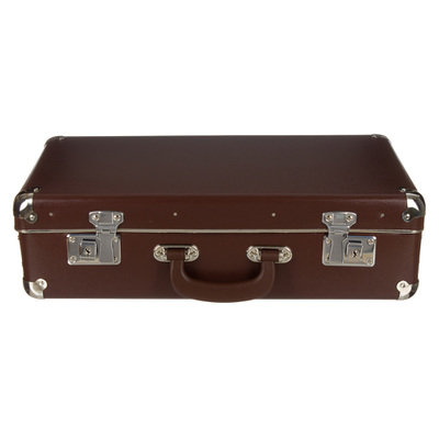 koffer donkerbruin 50 cm