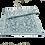 Thumbnail: Plastic vloerkleed 120x180 cm grijs