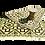 Thumbnail: Plastic vloerkleed 180x270 cm coffee aztec