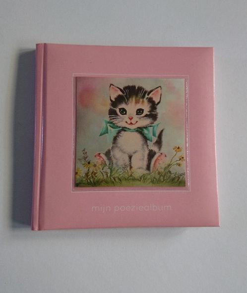 Poeziealbum roze