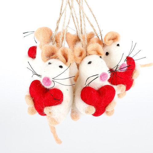 Vilten muis