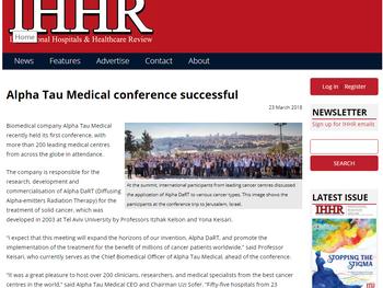 Alpha Tau Medical Conference Successful