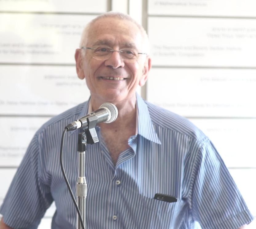 Prof. Itzhak Kelson, Chief Physics Officer