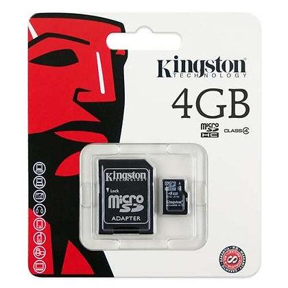 Cartão Memória Micro Sd 4GB Kingston