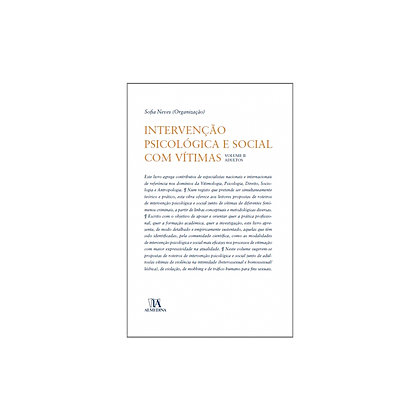 Intervenção Psicológica e Social com Vítimas Volume II - Adultos