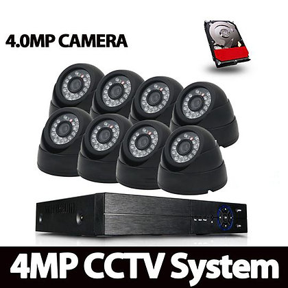AHD CAMERA 4MP KIT