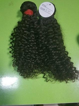 Extensões de cabelo cachos permanente