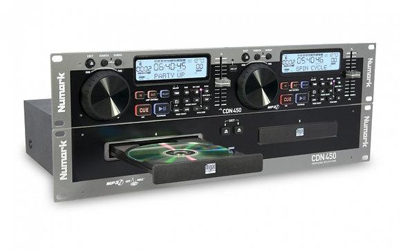 CDN450 Rack-Mount Professional Dual MP3 / CD Player