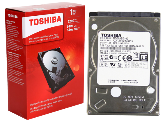 Disco interno toshiba 1tb portatil