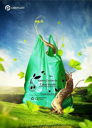 Saco de Plástico Degradavel Alsa Pq