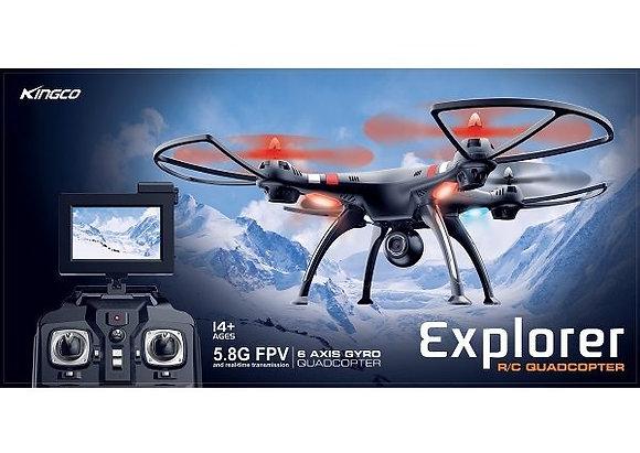 Kingco K88W Explorer Drone com câmera HD FPV