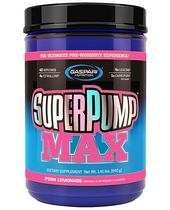 GN SUPER PUMP MAX 1.41LBS(640g)PINK LEMONADE