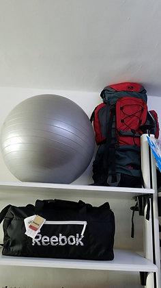 Bola de Pilates Cinza