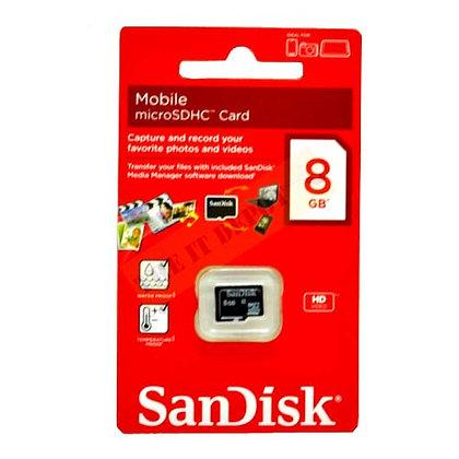 Cartão de Memória Sandisk MicroSD 8GB