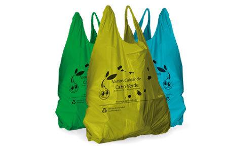 Sacos de Plásticos Oxo- Biodegradável