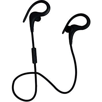 Coby Blk High Intense Sports Earbuds Headphone