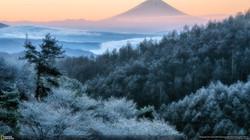 Below freezing point scenery