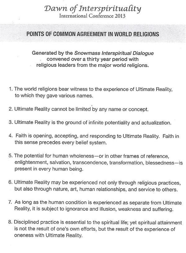 Points of Agreement of World Religions.j