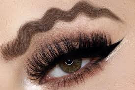 New Squiggly Eyebrow Trend Yay or Nay?