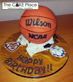 Happy Birthday! #basketballcake #edibleart #thecakeplace