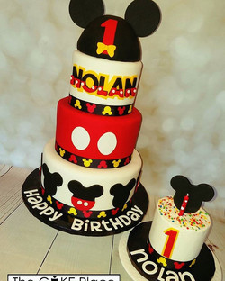 Happy Birthday Nolan #mickeymouse #edibleart #thecakeplace