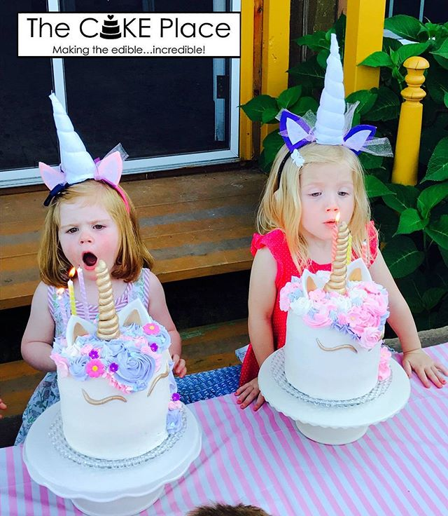 Happy Birthday!! #unicorncake #edibleart #thecakeplaceavon #birthdaycake