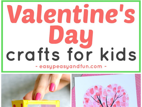 Valentines Day Crafts for Kids – Art and Craft Ideas for All Ages.