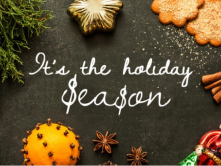 Take control of your holiday season before it controls you!