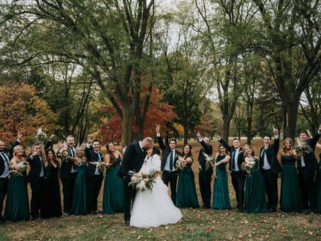 Mo + John Wedding | Founders One Nine Omaha, Nebraska